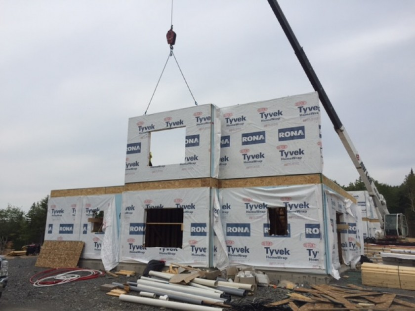 Panelized wall systems clattco construction home for Panelized building systems